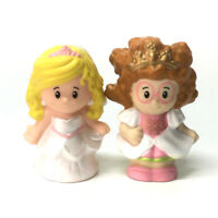 Lot 2X Fisher-Price Little People Disney Princess & Bride Girl Toy Xmas Gift