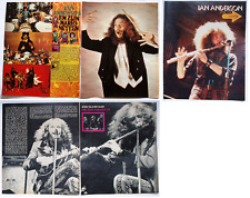 JETHRO TULL  JAN ANDERSON MARTIN BARRE  RARE CLIPPING LOT CUTTING  PIN/UP POSTER