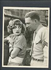 JOAN CRAWFORD + WILLIAM GARGAN - 1932 RAIN - LINEN-BACKED - SADIE THOMPSON