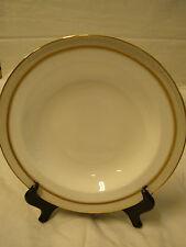Wedgwood Martha Stewart Collection Ribbon Stripe Gold Soup Bowl Rim  New