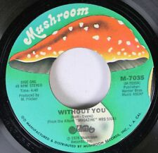Rock Nm! 45 Magazine - Without You / Here Song On Mushroom
