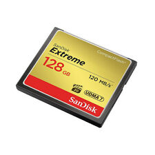 SanDisk Extreme 128GB CompactFlash Card speed up to 120 MB/s - Tracking included