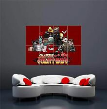 XBOX ONE PS3 PS4 PC GAME SUPER MEAT BOY NEW GIANT WALL ART PRINT POSTER OZ1247