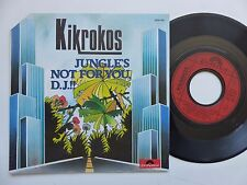 KIKROKOS Jungles not for you D.J. !! 2056766 Pressage FRANCE Discotheque RTL