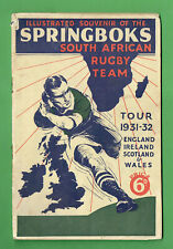 #D472. 1931-32 Springboks Rugby Union