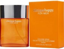 NEW Clinique Happy  Men Eau de Toilette Spray 100 ml 3.4oz in sealed packaging