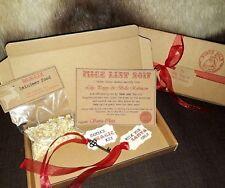 Christmas Eve Nice List Post Box Personalised + Santa Magic Key & Reindeer Food