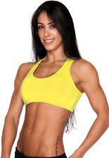 Compression Sports Bra Women Top Fitness Brazilian Supplex XS-S-M-L Open Back