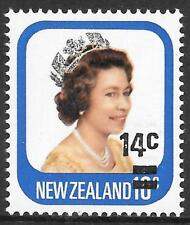 NEW ZEALAND 1979 14c on 10c with surch double, one albino, UM. C.P.PA31(w).