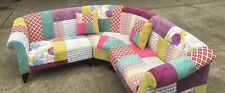 The Dibley Corner Sofa in Patchwork.(IN STOCK)Terms Available