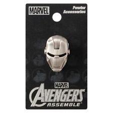 Iron Man Head Marvel Comics Pewter Lapel Pin!