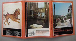 Lot Sammlung Leporello 12x Postkarten Praha Prag Kirche Religion ungelaufen