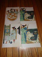 Lot of Four Menus from M. S. Stella Oceanis