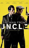 Die Man From Uncle Zweiseitig Original Kinofilm Plakat Eins Blatt Guy Ritchie