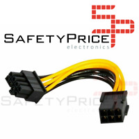 Cable extension alimentacion GPU PCI express 6 pin Hembra a 8 pin Macho REF2120