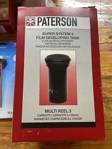 Paterson Super System 4 Film Developing Tank And Kit