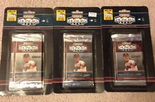 3 PACK LOT - 2004 Playoff Honors Baseball Factory Sealed Retail Blister