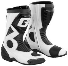 STIVALI MOTO SPORT RACING PISTA GAERNE G-EVOLUTION FIVE BLACK WHITE NERO TG 43