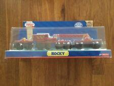 THOMAS & FRIENDS WOODEN RAILWAY_ ROCKY_ NEW IN BOX! FREE SHIP!
