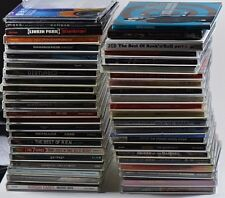 Music Cd Lot of 50 Cds - Rock, Pop, Industrial Metal and Dance Trance