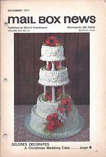 Vintage Cake Magazine Mail Box News December 1977 Maid of Scandinavia