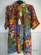 ROBERT GRAHAM LANDSCAPES LIMITED EDITION M MEN'S EMBROIDERED SHIRT NEW