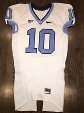 Game Worn North Carolina Tar Heels UNC #10 NFL Football Jersey MITCHELL TRUBISKY