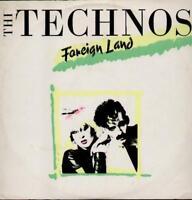 "TECHNOS Foreign Land  12"" Ps, B/W Dub Mix (Sticker Damage On Sleeve, Vg/Ex)"