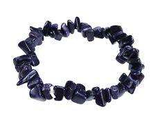 Larimar Bracelet Chips Pierre Précieuse Steinarmband de Guérison 18 Cm