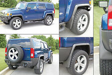 2006-2009 Hummer H3  Fender Flares and Mud Guard Package Complete