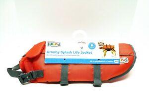 Outward Hound Granby Splash Dog Life Jacket ~ Medium 30-55 lbs