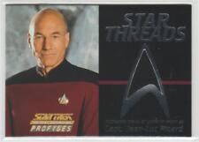 STAR TREK TNG PROFILES COSTUME CARD STAR THREADS CAPTAIN PICARD 0684/2500