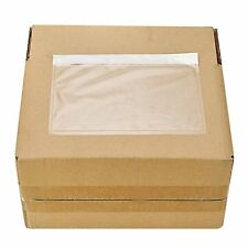 5.5x7.5 Self adhesive Clear waterproof packing list enclosed pouches 200 pcs