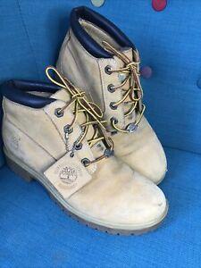 Timberland Yellow Lace Up Chukka Desert Boots UK7 US9