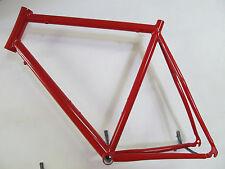 "Heli-Bikes Rennrad 28"" Rahmen 62cm Alu NEU rot glänzend 1950gramm"