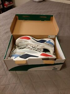 Puma Rs-X X Bmw Motorsport Lace Up  Mens  Sneakers Shoes Casual   - White - 9.5