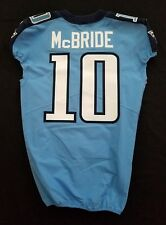 #10 Tre McBride Authentic Nike Tennessee Titans Game Issued Jersey