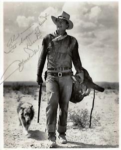 John Wayne Autographed Signed 8x10 Photo Reprint