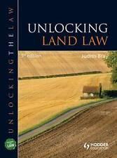 Unlocking Land Law (Unlocking the Law) by Bray, Judith
