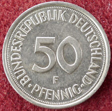 Germany 50 Pfennig 1984 F (D2004)