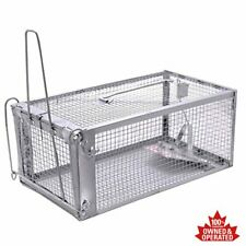 One-Door Live Animal Trap Humane Cage Trap for Rats Mouse Gopher Rodents Squirre