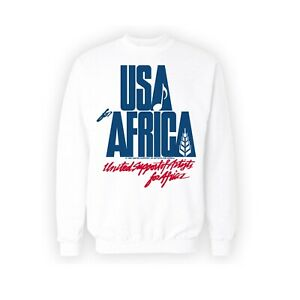 USA For Africa Jumper! We Are The World Kenny Rogers Michael Jackson, Diana Ross