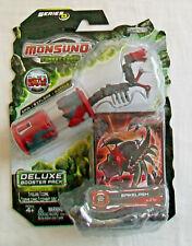 MONSUNO Deluxe Booster Pack SPIKELASH - 1 Mini Figure, 1 Core, 1 Card, 1 Disc