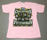 Vintage SUPER BOWL Champions XL 40 Pittsburgh Steelers NFL T-Shirt Adult Size L