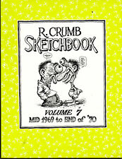 R. Crumb Sketchbook: Mid 1969 to End of '70 (Anglais)