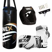 Children Boxing Kit Fitness Set Kids Punching Bag,Gloves,Helmet For Children