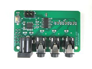 AC Raspberrypi Hat - 3x Current 1x Voltage (100A 110/220V) LeChacal - RPICT3V1