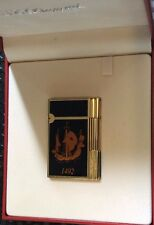 ST DUPONT COLUMBUS GATSBY LIMITED EDITION LIGHTER BLACK AND RED LACQUER 1992