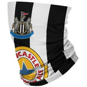 Newcastle United FC Retro Kit 98 Snood Face Mask Official Licensed Merchandise