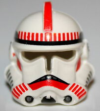 LeGo Star Wars Clone Helmet Red Shock Trooper 7655 NEW collector lego htf